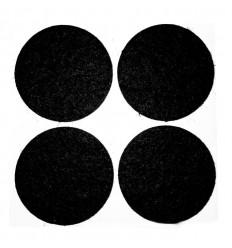 Filtpuder, runde, Ø 35 mm.