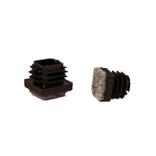 Filtsko - firkantet stålrør, 13x13 mm