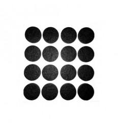 Filttpuder, runde, Ø 20 mm.
