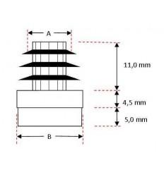 K-filtsko - til stålrør, Ø 10 mm.